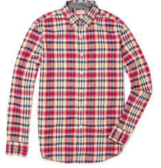 J.CrewMadras-Check Cotton Shirt