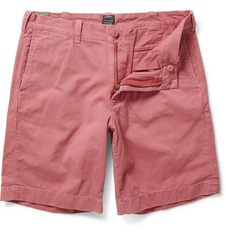 J.Crew Stanton Slim-Fit Cotton Twill Shorts