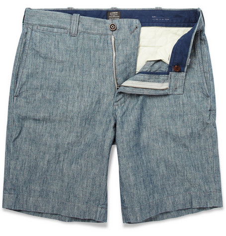 J.Crew Stanton Slim-Fit Chambray Shorts