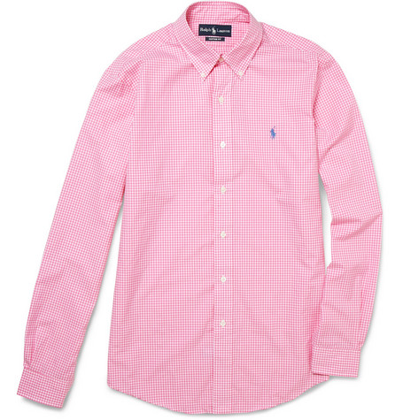 Polo Ralph Lauren Custom Fit Cotton Gingham Shirt