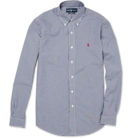 Polo Ralph Lauren Button-Down Collar Gingham Shirt