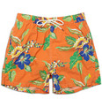 Polo Ralph Lauren Mid-Length Flower-Print Swim Shorts