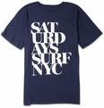 Saturdays NYC - Broken Stack Printed Cotton T-Shirt