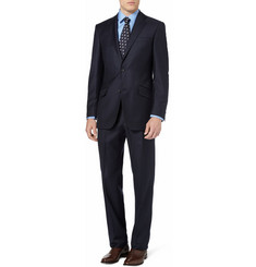 Richard James Dark Navy Wool-Twill Suit