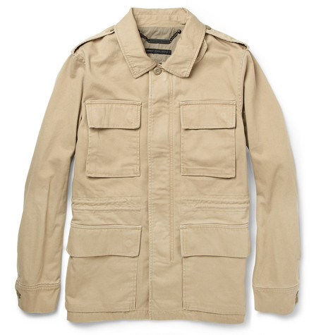 Marc by Marc Jacobs Military-Style Cotton Field Jacket