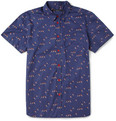 Marc by Marc Jacobs Bird-Print Cotton Shirt