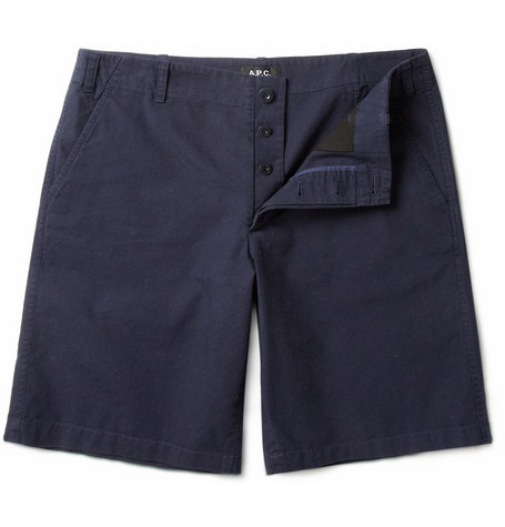 A.P.C. Straight-Leg Cotton Shorts