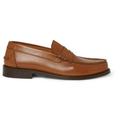 A.P.C. Leather Penny Loafers