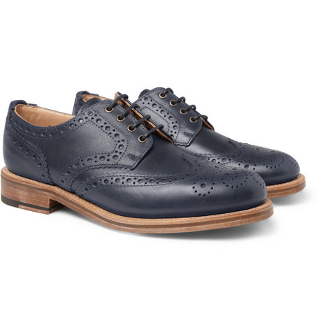 Oliver Spencer Leather Wingtip Brogues