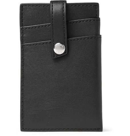 WANT Les Essentiels de la Vie Kennedy Leather Card Holder with Money Clip