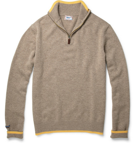 LimoLand Wool and Cashmere Zipped Sweater