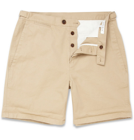 Sandro Pharel Cotton Chino Shorts