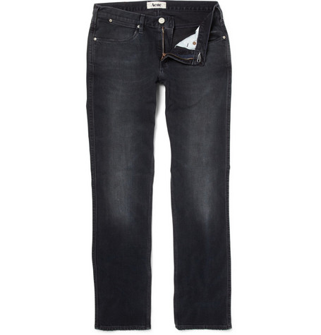 Acne Max Man Ray Slim-Fit Jeans