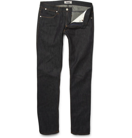 Acne Max Soft Raw Slim-Fit Jeans