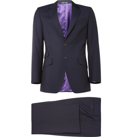 Paul Smith London Navy Westbourne Wool-Blend Suit