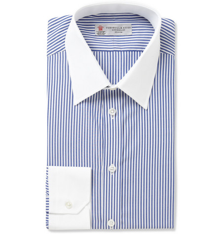 Turnbull & Asser Bengal Stripe Cotton Shirt