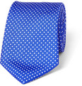 Turnbull & Asser Polka-Dot Silk Tie