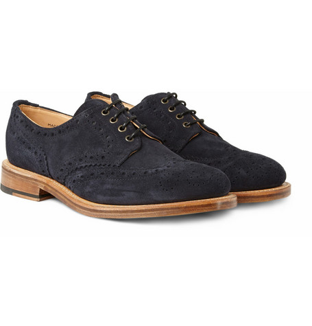 Oliver Spencer Country Suede Wingtip Brogues