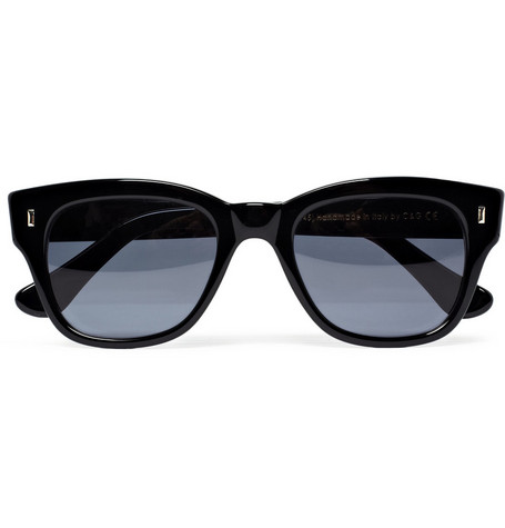 Cutler and Gross D-Frame Acetate Sunglasses