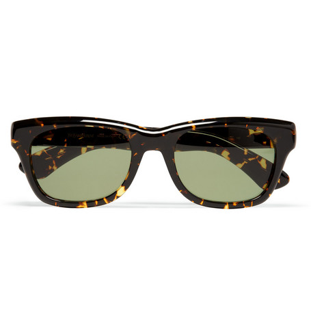 Yves Saint Laurent Square-Frame Tortoiseshell Sunglasses