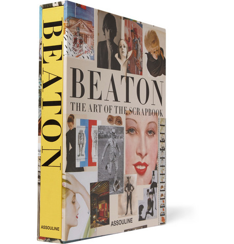 Assouline Cecil Beaton: The Art of the Scrapbook by James Danziger - Hardcover Book