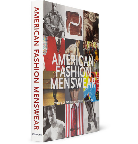 Assouline American Fashion Menswear by Robert E. Bryan - Hardcover Book