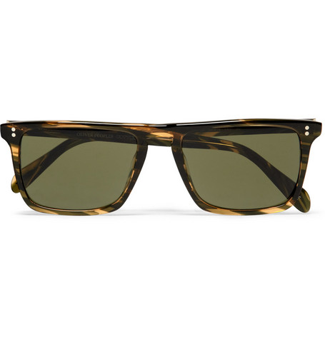 Oliver Peoples Bernardo Square-Frame Sunglasses