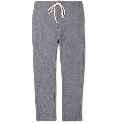 The Elder Statesman Knitted Cotton and Cashmere-Blend Trousers