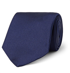 Turnbull & Asser Ribbed Silk Tie