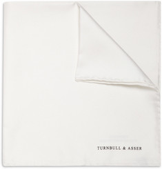 Turnbull & Asser Silk Pocket Square