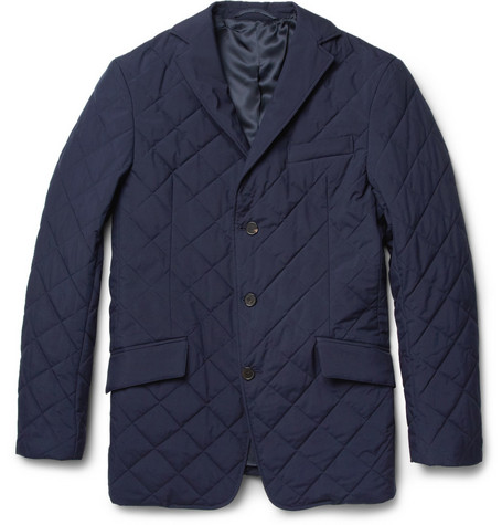 Alfred Dunhill Ellis Lightweight Quilted Jacket