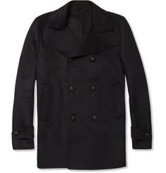Alfred Dunhill Chapman Wool and Cashmere-Blend Peacoat