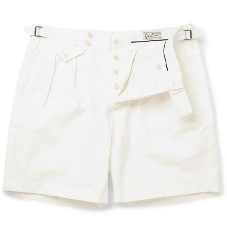 Polo Ralph Lauren Bradman Straight-Leg Cotton-Twill Shorts