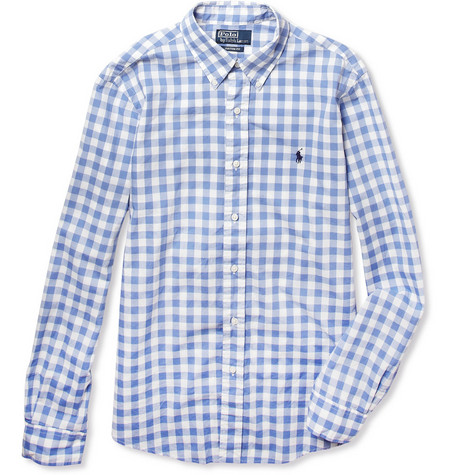 Polo Ralph Lauren Custom-Fit Check Cotton Shirt