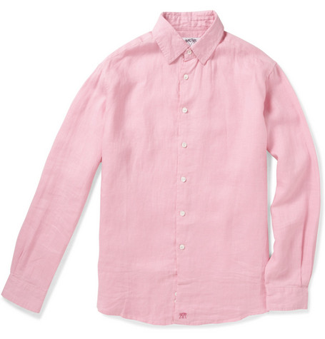 Pink House Mustique Lightweight Linen Shirt