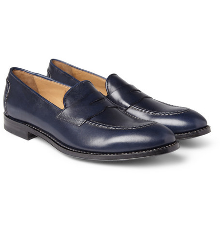 Paul Smith Shoes & Accessories Leather Penny Loafers