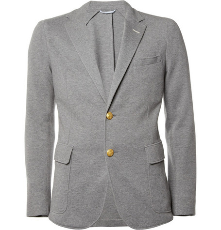 Gant Rugger Unstructured Cotton-Piqué Blazer