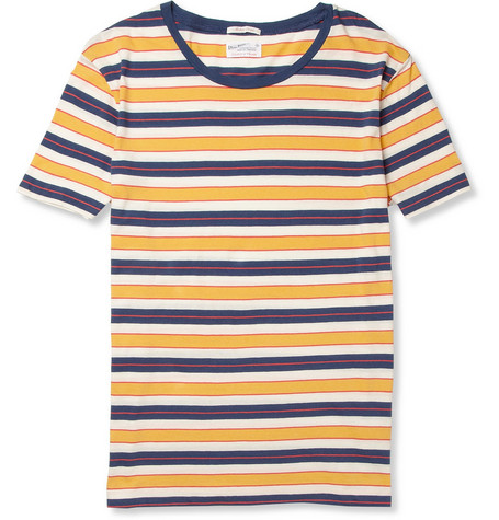 Gant Rugger Striped Cotton T-Shirt