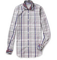 Etro - Slim-Fit Check Cotton Shirt