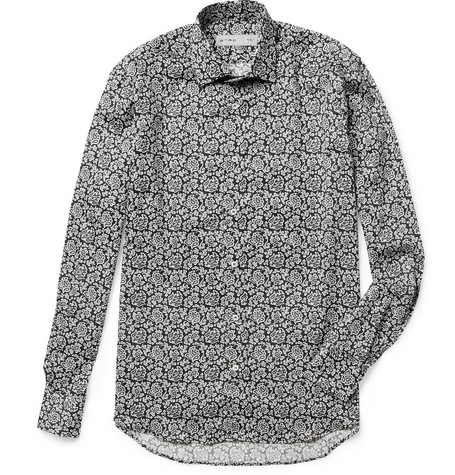 Etro Lightweight Paisley-Print Cotton Shirt