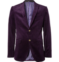 Etro Unstructured Cotton-Blend Corduroy Blazer