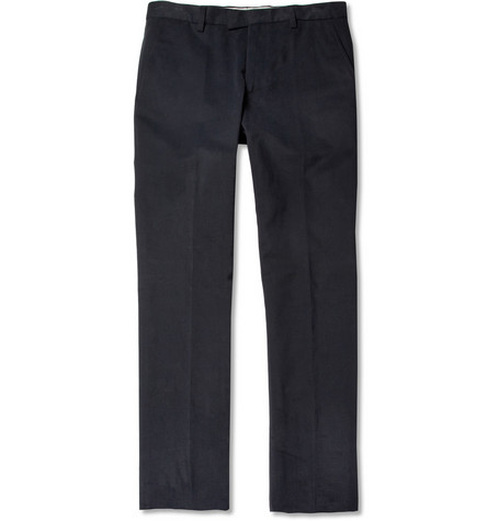 Etro Cotton-Moleskin Trousers