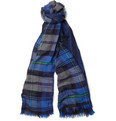 Etro Double-Sided Wool and Cashmere-Blend Scarf