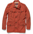 Faconnable Cotton-Twill Field Jacket