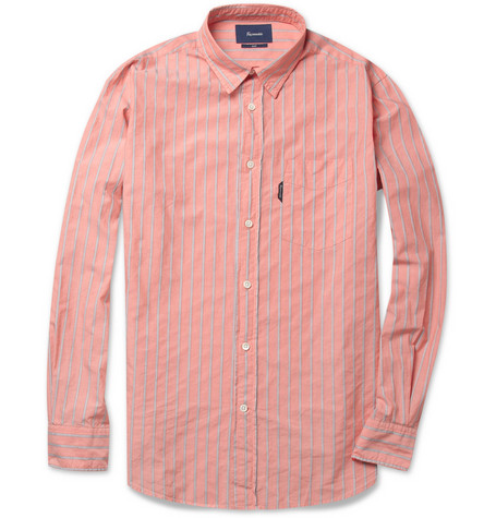 Faconnable Striped Cotton Shirt