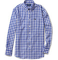 Faconnable - Gingham Check Cotton Shirt