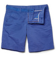 Faconnable - Straight-Leg Cotton Shorts