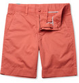 Faconnable Straight-Leg Cotton Shorts