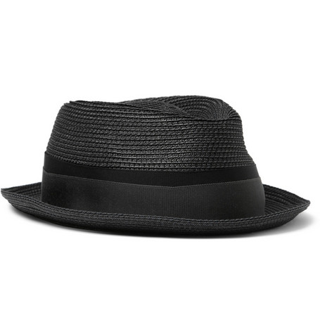 Lock & Co Hatters Straw Trilby Hat