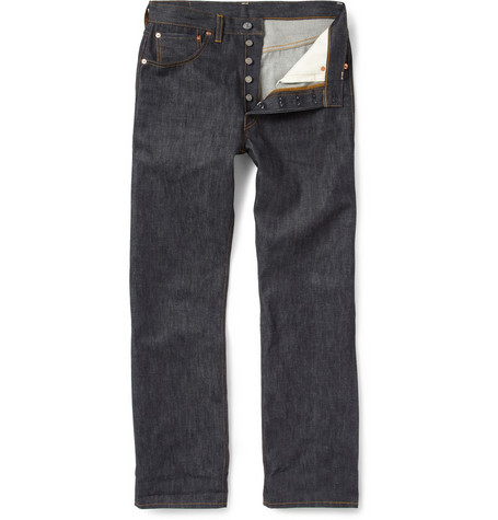 Levi's Vintage Clothing 1947 501 Shrink-to-Fit Straight Selvedge Denim Jeans
